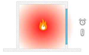 Izolacyjność EI przegród ogniowych