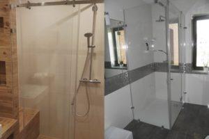Szklana kabina prysznicowa Śląsk