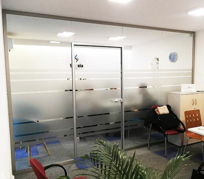 Scianka akustyczna od Esglas z drzwiami