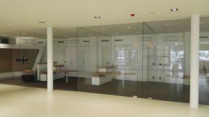 Zabudowa szklana biura