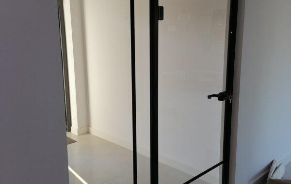 Drzwi ze szkła