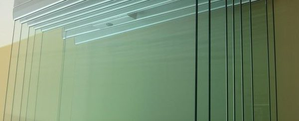 szkło z bliska