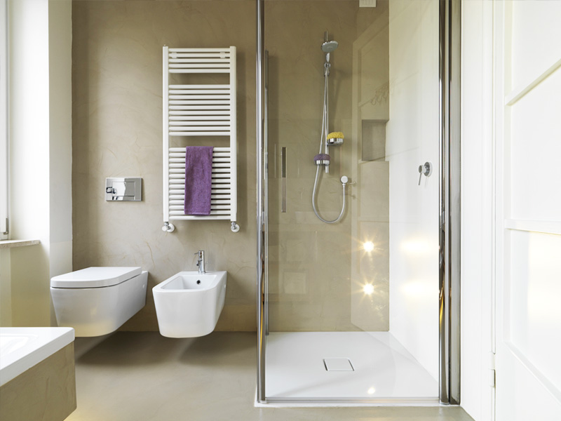Sposony na urządzenie małej łazienki